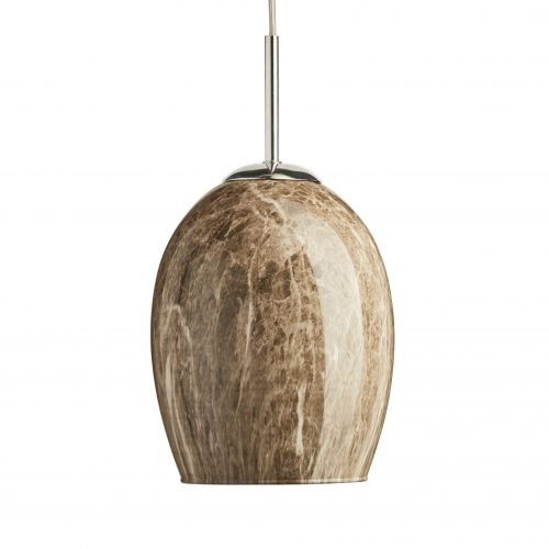 hanging pendant light on a white background